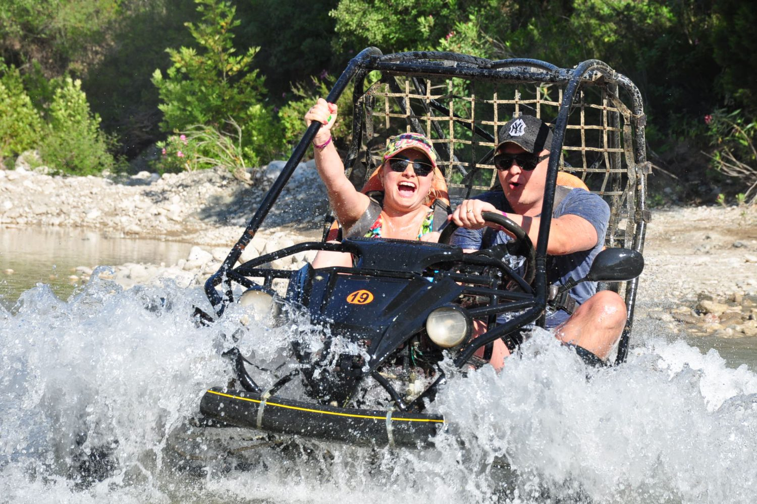 BUGGY SAFARI & RAFTING COMBINATION