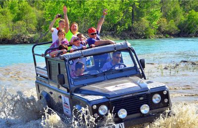 SAFARI & RAFTING COMBINATION