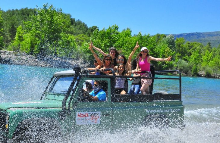 JEEP SAFARI & RAFTING COMBINATION