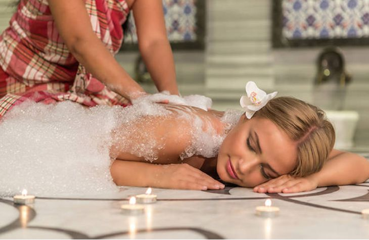 TURKISH BATH MASSAGE